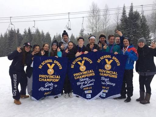 Banner Year For Ski Team - Collingwood Sweeps The BC's