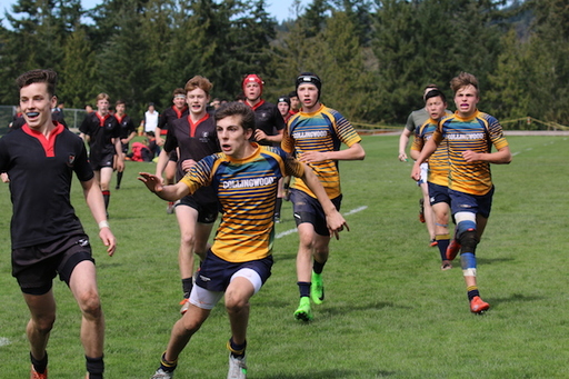 Grade 10 Rugby Team Wins League Opener