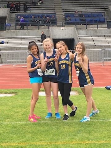Cavs Tear Up The Track At North Shore Championships