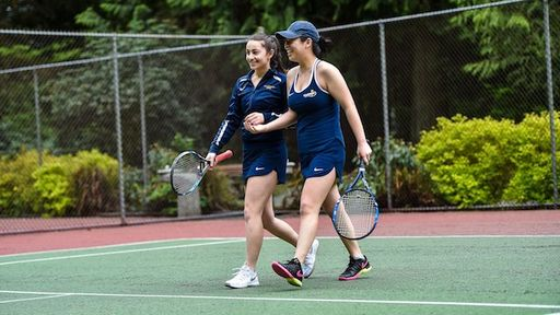 Tennis Team Off To A Great Start At BC Championships