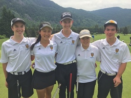 Golf Team Wins BC Silver