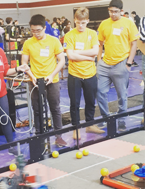 Robotics Fall Qualifier 2018
