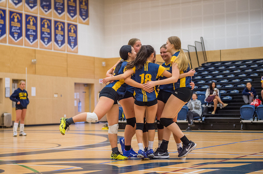Grade 9 Volleyball Peaking At The Right Time