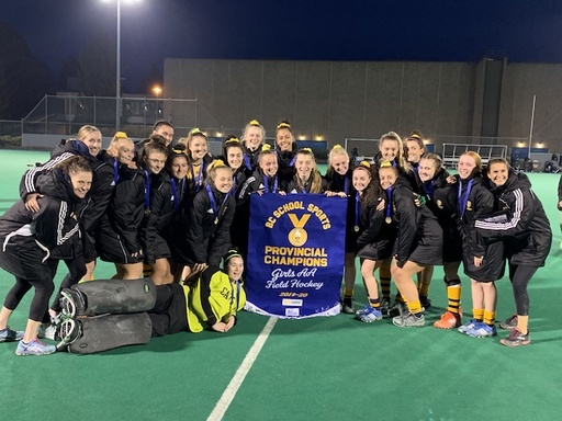 Cavs Win Third Straight BC Field Hockey Title