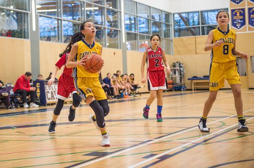 Grade 8 Cavs Win Playoff Opener